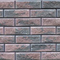 Образец бетонных блоков Brick цвет Графит-Коричневый