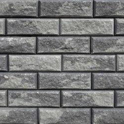 Образец бетонных блоков Brick цвет Графит-Пепел