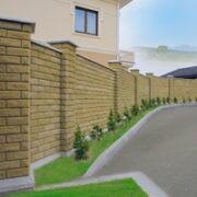 Забор из бетона в Минске