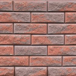 Образец бетонных блоков Brick цвет Коричневый-Терра