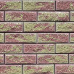 Образец бетонных блоков Brick цвет Желтый-Красный