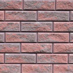 Образец бетонных блоков Brick цвет Коричневый-Красный