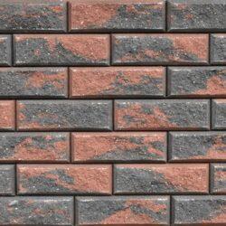 Образец бетонных блоков Brick цвет Графит-Терра