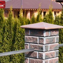 Забор из блоков Brick