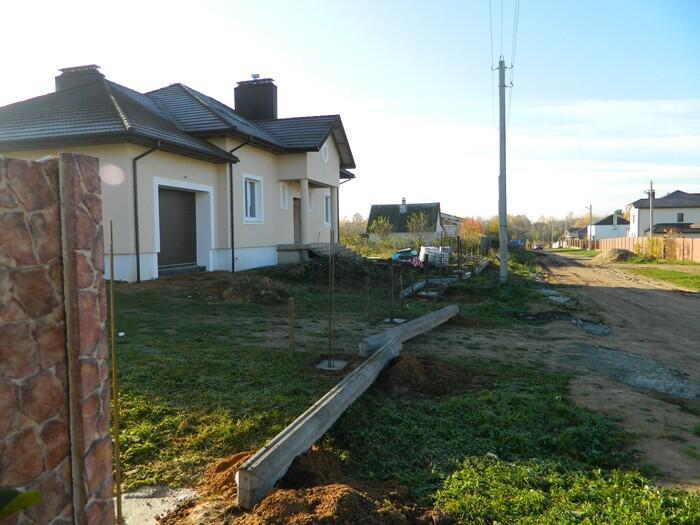 Забор дом
